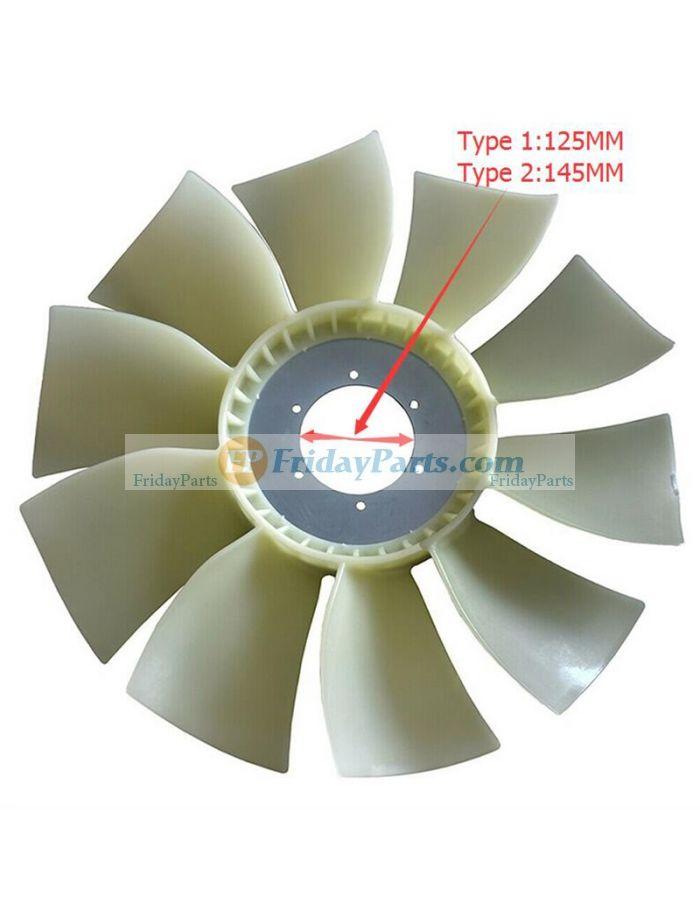 cooling fan clutch leaf blade 245 9344 for caterpillar cat 320d 320d2 321c excavator 3066 c6 4 c6 6 c7 1 engine