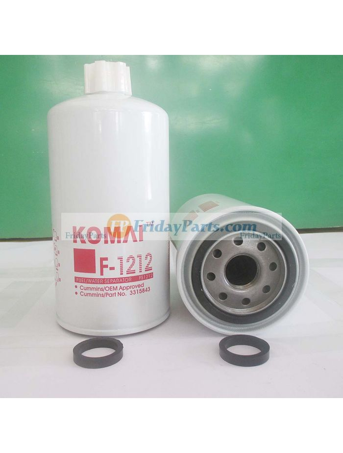 buy For Doosan Daewoo Excavator SOLAR 170W-V SOLAR 220LL SOLAR 200W-V SOLAR  290LL Fuel Filter 65.12503-5011BFridayParts