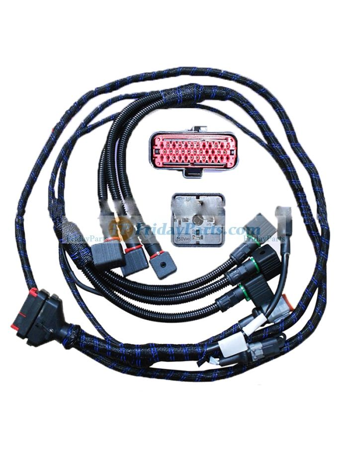 buy ECU 35 Pin Connector Engine Wiring Harness Truck Oil Lead Wire harness  for Scania TruckFridayParts